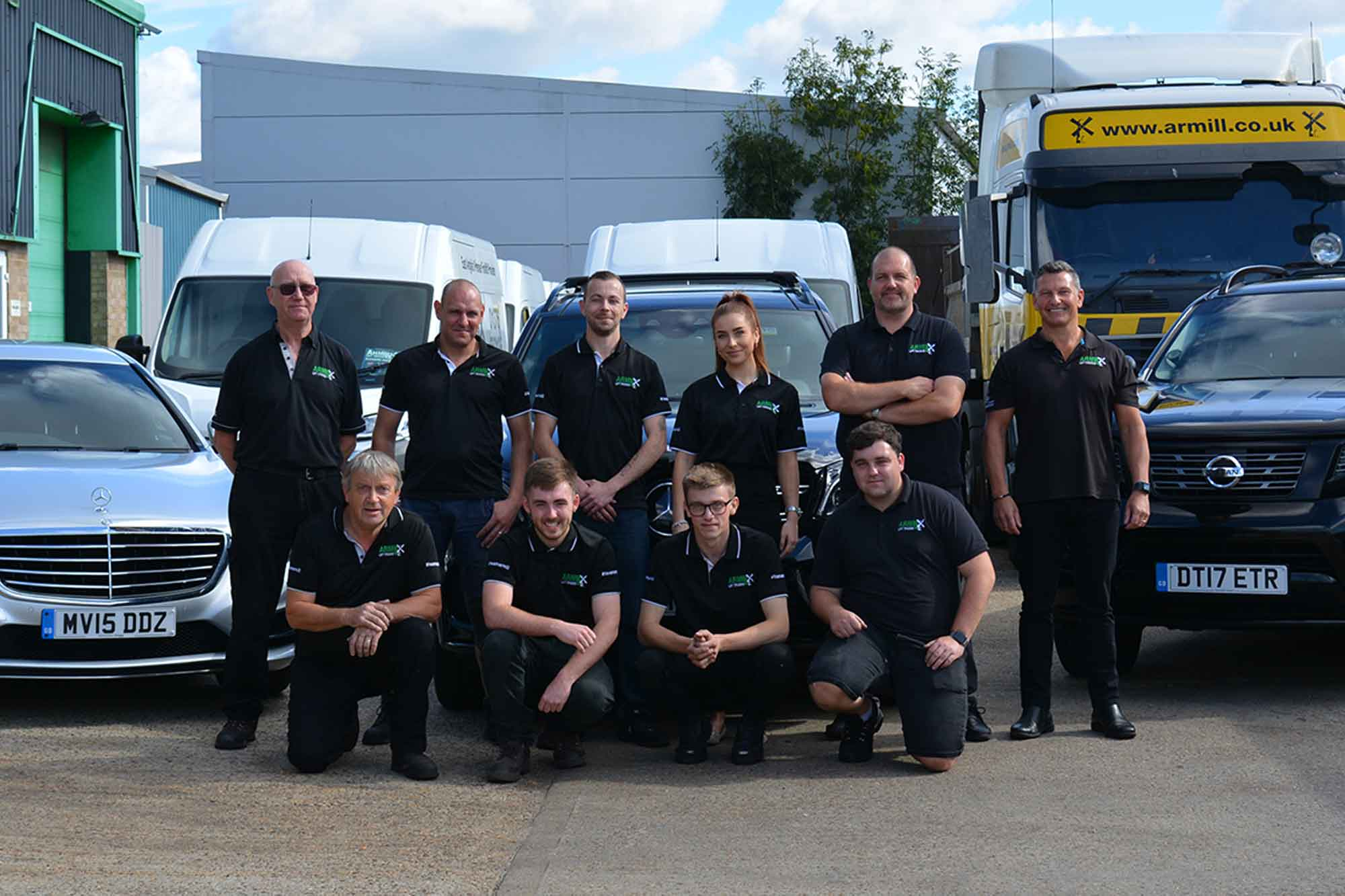 Armill Lift Trucks Team - About Us