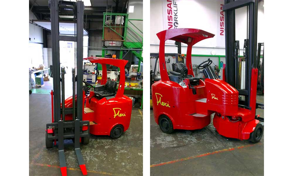 Flexi Used Articulated Forklift Truck
