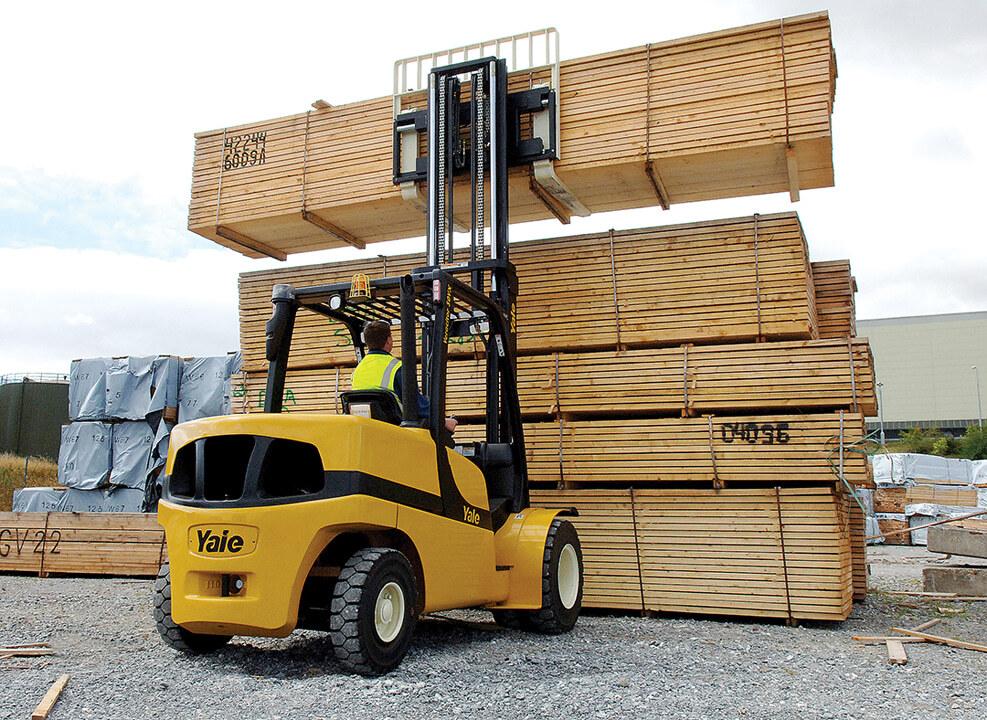 Yale Diesel LPG Forklift Truck