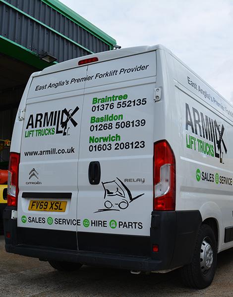 Armill Lift Trucks Van