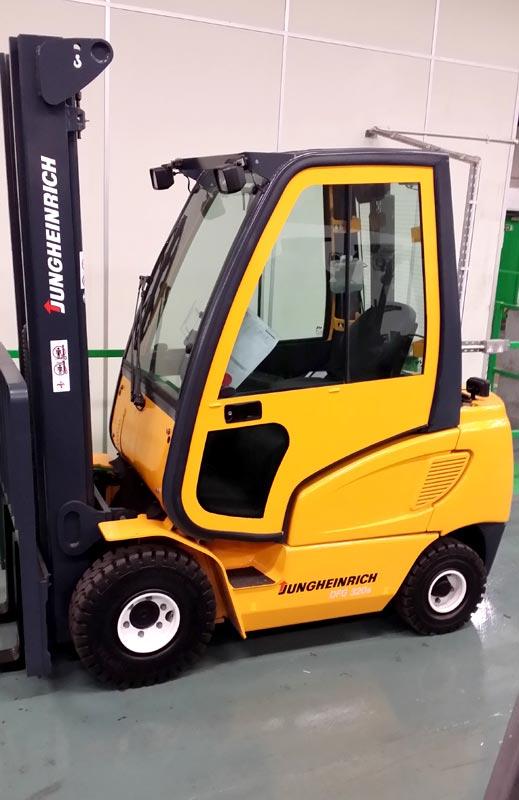 Jungheinrich Diesel Forklift