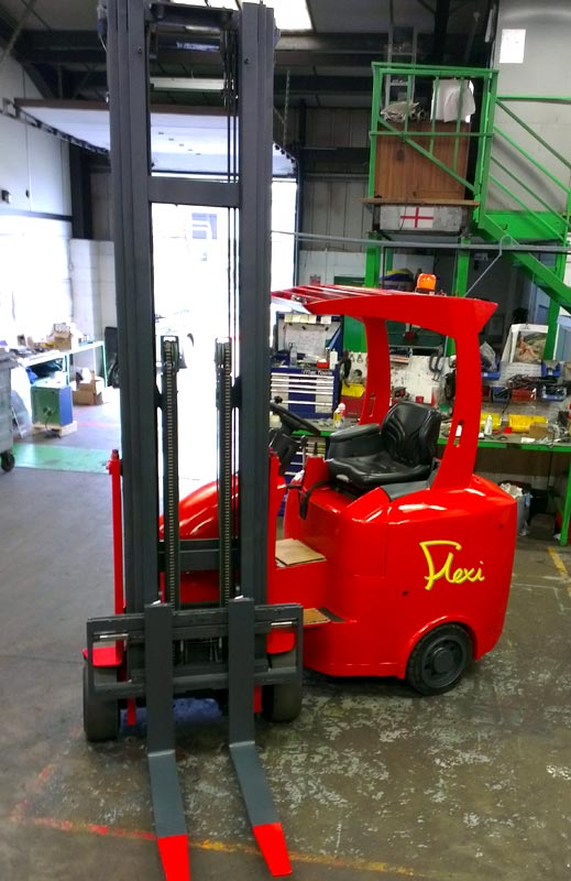 Narrow Aisle Flexi Forklift Truck